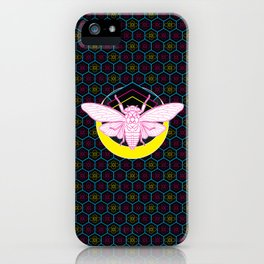 Geometric Cicada iPhone Case