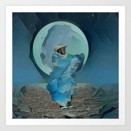 Portrait of a Currulao Dancer Art Print