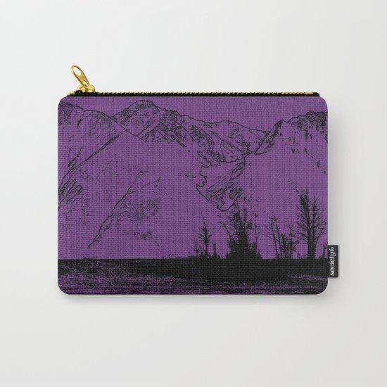 Knik River Mts. Pop Art - 2 Carry-All Pouch