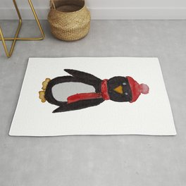 Warm Little Penguin Rug