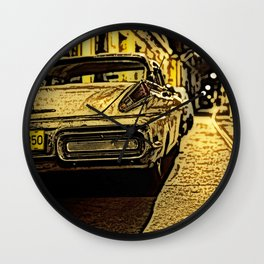 Havanna at night... Wall Clock