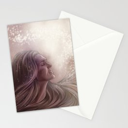 love and light // paige turco Stationery Cards