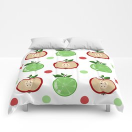 Apples and Lime Comforters