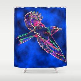 Bird of the Mist Shower Curtain