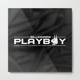 Billionaire Playboy Metal Print