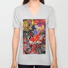 Koi of Greece Unisex V-Neck
