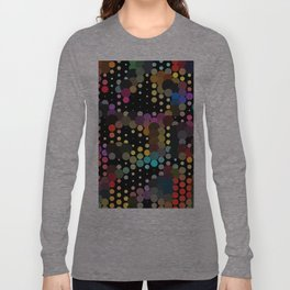 forest of dots Long Sleeve T-shirt