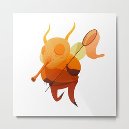 look out for the bugman Metal Print