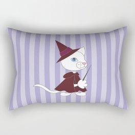 Cat Wizard. Rectangular Pillow