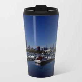 South Side Skyline (Chicago Northerly Island Collection) Travel Mug