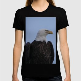 Bald Eagle on Watch along the Kenai River T-shirt