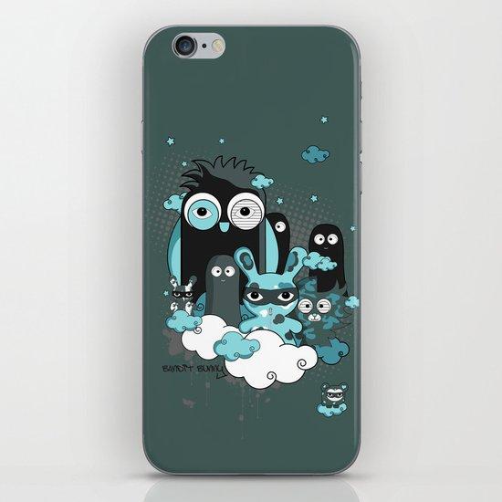 Nocturnal Friends iPhone & iPod Skin