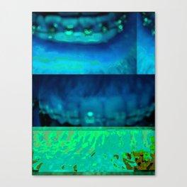 Bent #36: Mouth2 Canvas Print