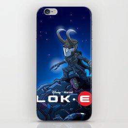 Lok•E: Wall•E parody iPhone Skin