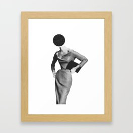 Hole In The Head Framed Art Print