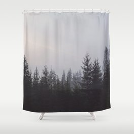 LOST IN THE NATURE Shower Curtain