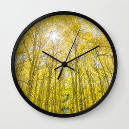 Nevermind The Trees Wall Clock