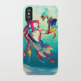 The Hero & the Prince iPhone Case
