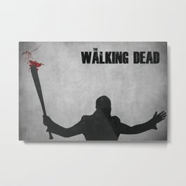 The Walking Dead - Negan Metal Print