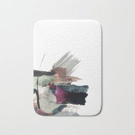 Begin [3]: a minimal abstract mixed media piece Bath Mat