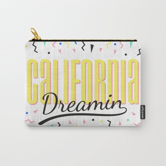 California dreamin (memphis pattern) Carry-All Pouch