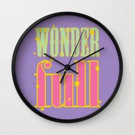 WONDER FULL - TWINKLING STARS Wall Clock