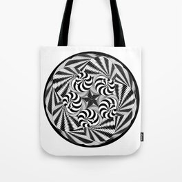 Harlequin Movements in 5/4 Time Tote Bag
