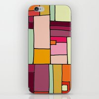 robin hood iPhone & iPod Skins featuring hood by sylvie demers