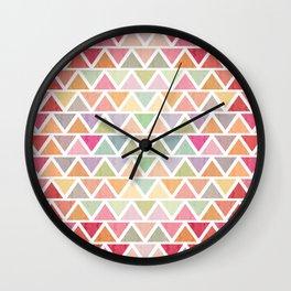 Lovely geometric Pattern III Wall Clock