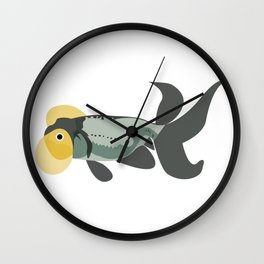 Stanley the Fish Wall Clock