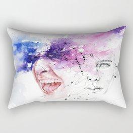Don't hold your feelings Rectangular Pillow