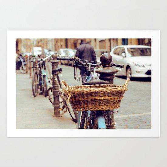 To ride. Art Print
