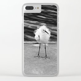 Floating on the Breeze Clear iPhone Case