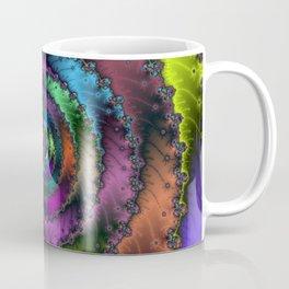 Fractal Bullseye Coffee Mug