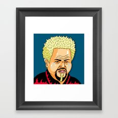 Cry Fieri Framed Art Print