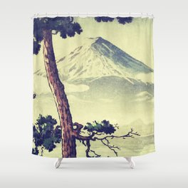 Once Was Wandering Shower Curtain