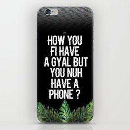 Nuh Phone iPhone Skin