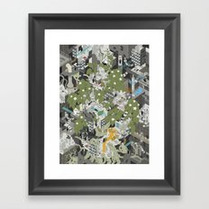 Aperture Science: All science, all the time Framed Art Print