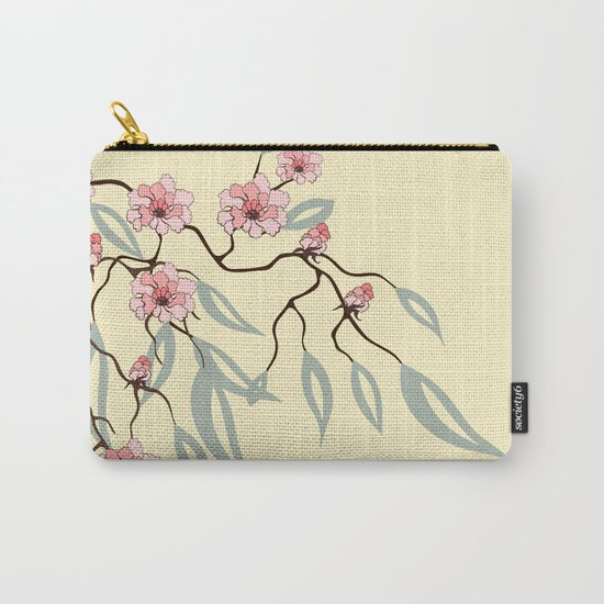 Floral. Dreams of spring. Pink sakura. Carry-All Pouch