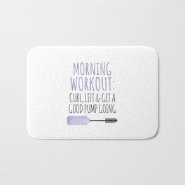 Morning Workout Bath Mat