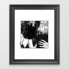 asc 667 - Les rendez-vous du crépuscule (Visitors in the twilight) #06 Framed Art Print