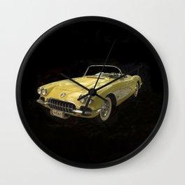 Classic Corvette Wall Clock
