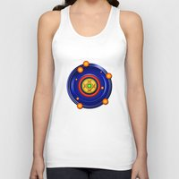 milky way Tank Tops featuring The Milky Way by Robin Curtiss