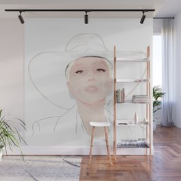 Lady G Wall Mural