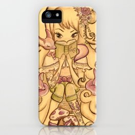 The Fox Mistress iPhone Case