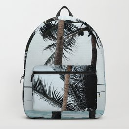 Palm Tree Silhouettes Backpack