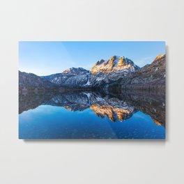 Silver Lake Sunrise, Eastern Sierra Nevada Metal Print