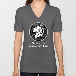 Stratton Oakmont Inc Logo From The Wolf Artwork Of Symbol For Tshirts Prints Posters Bags Men Women Unisex V-Neck