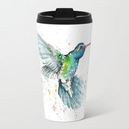 Hummingbird Flurry Travel Mug