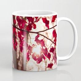 Red Leafs Coffee Mug